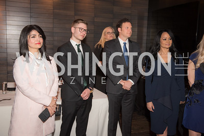 Rabia Kazan, Yair Netanyahu, Yisroel Stefansky, Katrina Pierson, AIPAC Dinner, Advanced Security Training Institute, Hosted by Martha Boneta, March 24, 2019, Photo by Ben Droz.