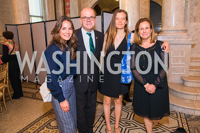 Annalise Glick, Rep. Jim McGovern, Molly McGovern, Lisa McGovern . Photo by Alfredo Flores. The ASCAP Foundation We Write the Songs 2019. The Library of Congress. May 20, 2019