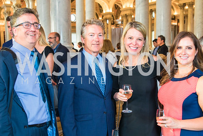 Doug Stafford, Sen. Rand Paul, Jennifer Larson, Elizabeth Stafford. Photo by Alfredo Flores. The ASCAP Foundation We Write the Songs 2019. The Library of Congress. May 20, 2019