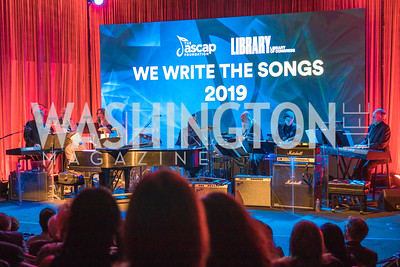 Photo by Alfredo Flores. The ASCAP Foundation We Write the Songs 2019. The Library of Congress. May 20, 2019