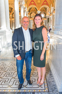 RIchard Rached, Audra Hill. Photo by Alfredo Flores. The ASCAP Foundation We Write the Songs 2019. The Library of Congress. May 20, 2019