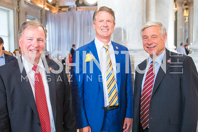 Rep. Doug Lamborn, Rep. Roger Marshall, Rep. Fred Upton. Photo by Alfredo Flores. The ASCAP Foundation We Write the Songs 2019. The Library of Congress. May 20, 2019