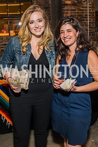 Christina Ruffino  , Abigail Williams.  Photo by Alfredo Flores. Advoc8 Party. AutoShop at Union Market. October 2, 2019.