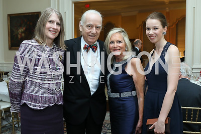 Shelley and Bruce Ross Larson, Deborah Sigmund, Natasha Zavadskaia. Photo by Tony Powell. Alliance Francaise 70th Anniversary. April 11, 2019