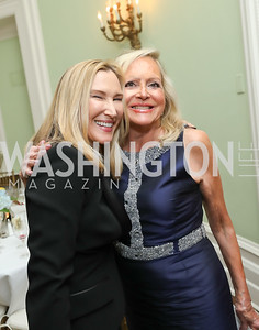 Meg Clerc, Deborah Sigmund. Photo by Tony Powell. Alliance Francaise 70th Anniversary. April 11, 2019