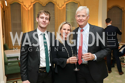 Aidan, Olwen and Don Pongrace. Photo by Tony Powell. Alliance Francaise 70th Anniversary. April 11, 2019