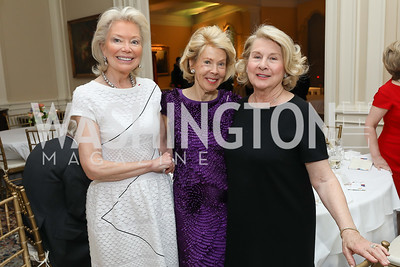 Joan Carl, Bobbie Brewster, Lucy Conboy. Photo by Tony Powell. Alliance Francaise 70th Anniversary. April 11, 2019