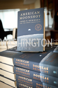 """Photo by Tony Powell. Douglas Brinkley """"American Moonshot"""" Book Party. April 1, 2019"""