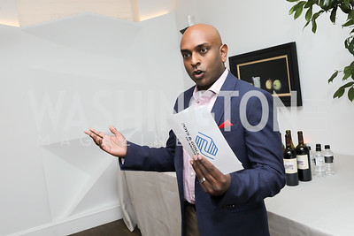 Dinner Chair Viyas Sundaram. Photo by Tony Powell. 2019 BGCA Spring Dinner. Metier. May 15, 2019