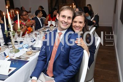 Ashley and Matt Goodspeed. Photo by Tony Powell. 2019 BGCA Spring Dinner. Metier. May 15, 2019