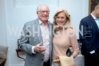 Harold Zirkin, Susan Packard. Photo by Tony Powell. 2019 BGCA Spring Dinner. Metier. May 15, 2019