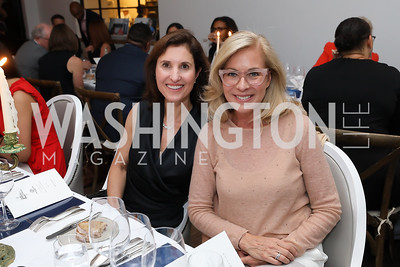 Christine Harrison, Susan Packard. Photo by Tony Powell. 2019 BGCA Spring Dinner. Metier. May 15, 2019