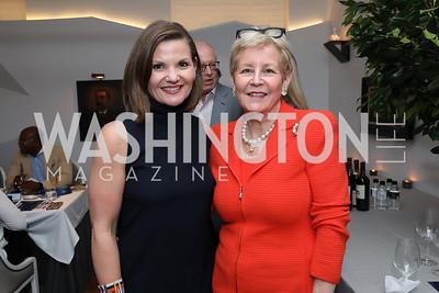 Julie Teer, Nancy Zirkin. Photo by Tony Powell. 2019 BGCA Spring Dinner. Metier. May 15, 2019