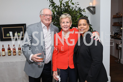 Harold and Nancy Zirkin, Gabrielle Webster. Photo by Tony Powell. 2019 BGCA Spring Dinner. Metier. May 15, 2019