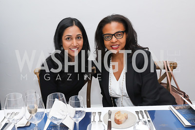 Jaya Sundaram, Maja Hazell. Photo by Tony Powell. 2019 BGCA Spring Dinner. Metier. May 15, 2019