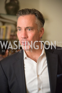 "Jim Sciutto, Book Party with Ambassador Winston Lord, ""Kissinger on Kissinger"", and Jim Sciutto, ""The Shadow War"", at the home of Juleanna Glover and Christopher Reiter.  Summer 2019, Photo by Ben Droz."