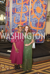 Jessica Stafford-Davis, Kate Goodall, By The People, Arts Festival, Smithsonian Arts and Industries Building, June 14th, 2019.  Photo by Ben Droz.