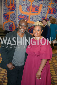 Viktor Ekpuk, Jessica Stafford-Davis, By The People, Arts Festival, Smithsonian Arts and Industries Building, June 14th, 2019.  Photo by Ben Droz.