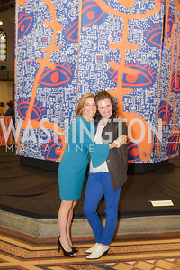 Rachel Goslins, Allison Peck, By The People, Arts Festival, Smithsonian Arts and Industries Building, June 14th, 2019.  Photo by Ben Droz.