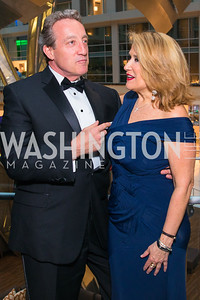 David Marsh, Susan Lacz. Photo by Alfredo Flores. Catholic Charities Gala 2019. Marriott Marquis. April 5, 2019