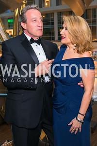 David Marsh, Susan Lacz. Photo by Alfredo Flores. Catholic Charities Gala 2019. Marriott Marquis. April 5, 2019