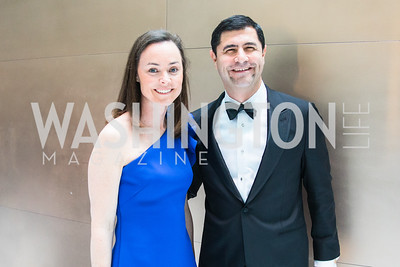 Catherine Albornoz, Gabe Albornoz, Photo by Alfredo Flores. Catholic Charities Gala 2019. Marriott Marquis. April 5, 2019