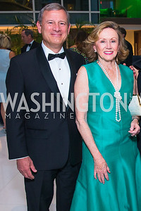 John Roberts, Jane Roberts, . Photo by Alfredo Flores. Catholic Charities Gala 2019. Marriott Marquis. April 5, 2019  .dng
