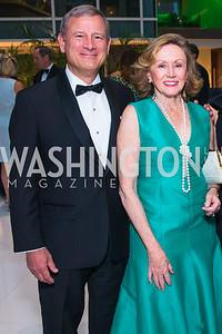 John Roberts, Jane Roberts, . Photo by Alfredo Flores. Catholic Charities Gala 2019. Marriott Marquis. April 5, 2019  .dng