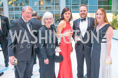 David Turch, Lena Pendergrass, Mari Del Turch, Luke Newgaard, Amanda Stephenson. Photo by Alfredo Flores. Catholic Charities Gala 2019. Marriott Marquis. April 5, 2019  .dng