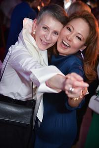 Irene Roth, Shigeko Bork, CityDance, DREAM Gala, at the Thurgood Marshall Center, May 11, 2019, photo by Ben Droz.