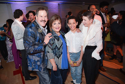 Jose Alberto Ucles, Annie Totah, Irene Roth, CityDance, DREAM Gala, at the Thurgood Marshall Center, May 11, 2019, photo by Ben Droz.
