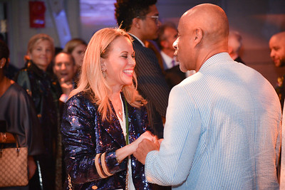 Patricia Howell, Lloyd Howell,  CityDance, DREAM Gala, at the Thurgood Marshall Center, May 11, 2019, photo by Ben Droz.