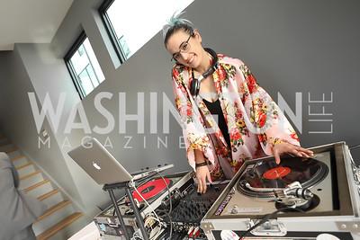 DJ Alchemist. Photo by Tony Powell. Compass DMV Launch Party. April 4, 2019