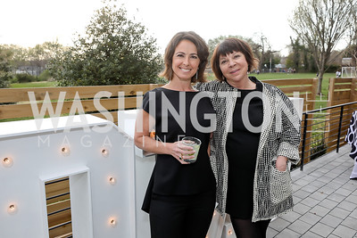 Meredith Margolis, Molly Peter. Photo by Tony Powell. Compass DMV Launch Party. April 4, 2019