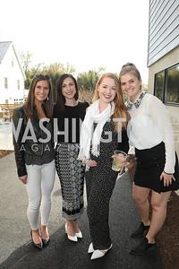 Megan Dottermusch, Sarah Friedman, Jessica Dinan, Monika Steiger. Photo by Tony Powell. Compass DMV Launch Party. April 4, 2019