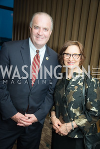 Rep. Dan Kildee, Rep. Suzanne Bonamici, The Creative Coalition, Right to Bear Arts Gala, May 9, 2019, Photo by Ben Droz.