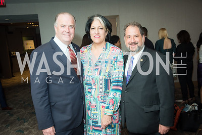 Rep. Dan Kildee, Tammy Haddad, Sen. Paul Strauss, The Creative Coalition, Right to Bear Arts Gala, May 9, 2019, Photo by Ben Droz.