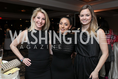 Diana Minshall, Mariana Chambers, Sophie Zeigler. Photo by Tony Powell. DC Plastic Surgery Boutique Grand Opening. Four Seasons. January 24, 2019