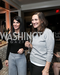 Suzanne Kimpel, Jessica Bieligk. Photo by Tony Powell. DC Plastic Surgery Boutique Grand Opening. Four Seasons. January 24, 2019