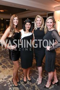 Darcy Nauman, Vandana Puri, Diana Minshall, Jessica Homa. Photo by Tony Powell. DC Plastic Surgery Boutique Grand Opening. Four Seasons. January 24, 2019