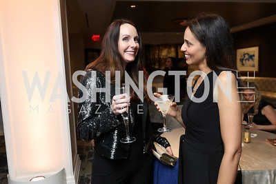 Robyn Wallmark, Sonya Chawla. Photo by Tony Powell. DC Plastic Surgery Boutique Grand Opening. Four Seasons. January 24, 2019