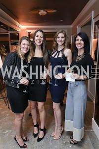 Shannon Taylor, Deborah Klotz, Amy Singer, Suzanne Kimpel. Photo by Tony Powell. DC Plastic Surgery Boutique Grand Opening. Four Seasons. January 24, 2019