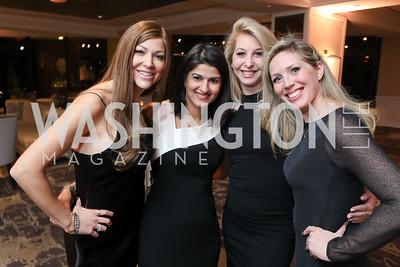 Darcy Nauman Vandana Puri, Diana Minshall, Jessica Homa. Photo by Tony Powell. DC Plastic Surgery Boutique Grand Opening. Four Seasons. January 24, 2019