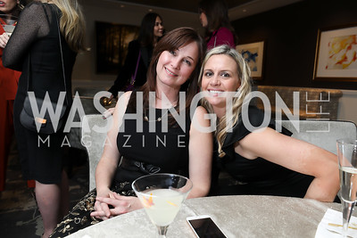 Wendy Kneeland, Janine Carlini. Photo by Tony Powell. DC Plastic Surgery Boutique Grand Opening. Four Seasons. January 24, 2019