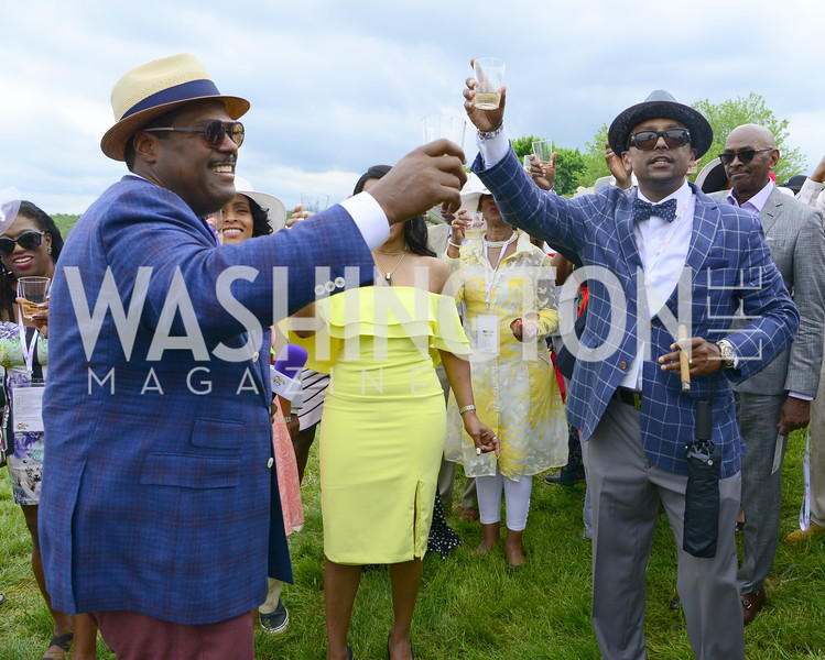 DC09 Party at the 2019 Gold Cup, Great Meadow, May 4, 2019, photo by Nancy Milburn Kleck