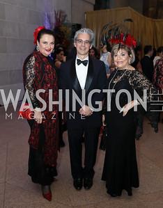 "Rhoda Septilici, Chase Robinson, Annie Simonian Totah. Photo by Tony Powell. 2019 ""Art & Seoul."" Freer Sackler. November 22, 2019"