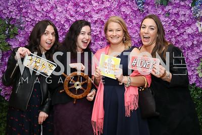 "Maria Vizcaino, Laura Hoffman, Elise Luthi, Christina Iannuzzi. Photo by Tony Powell. 2019 ""Art & Seoul."" Freer Sackler. November 22, 2019"