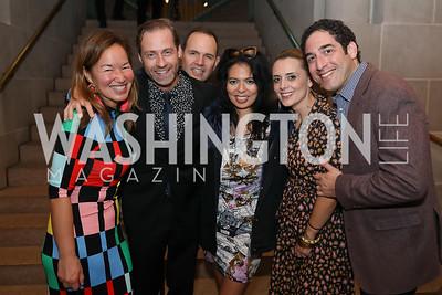 "Philippa Hughes, Adam Ruben, Steve Rochlin, Christina Sevilla, Pascaline Clerc and Lee Brenner. Photo by Tony Powell. 2019 ""Art & Seoul."" Freer Sackler. November 22, 2019"