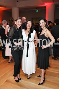 "Anne Borkovic, Alice Hsu, Leeanne Mancari. Photo by Tony Powell. 2019 ""Art & Seoul."" Freer Sackler. November 22, 2019"