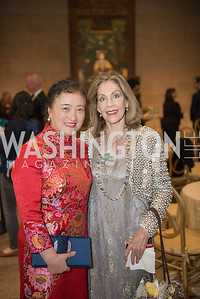 Willow Weilan Hai, Jillian Sackler, Freer Sackler, Gallery of Art, Empresses of China, March 27, 2019. Photo by Ben Droz.